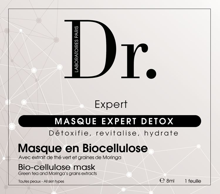 MASQUE EXPERT DETOX - LOT DE 4